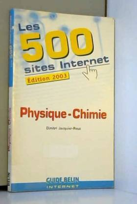 Les 500 sites Internet...