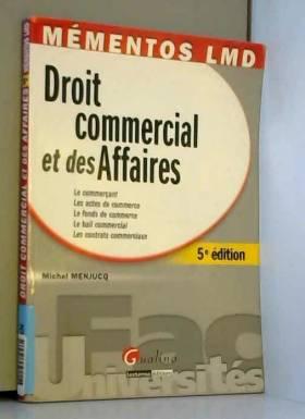 Droit commercial et des...