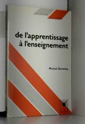 DE L'APPRENTISSAGE A...