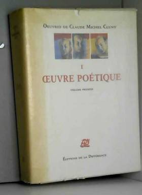OEUVRES COMPLETES. Tome 1,...