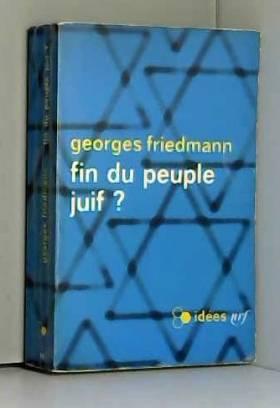 Fin du peuple juif ?