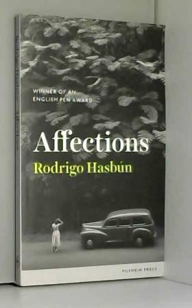 Rodrigo Hasbun - Affections