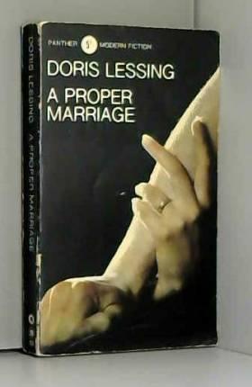 Doris Lessing - A Proper Marriage