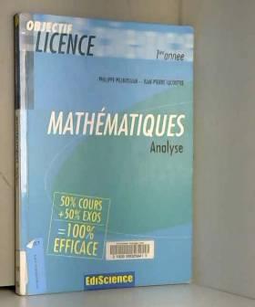Analyse - 2ème édition -...