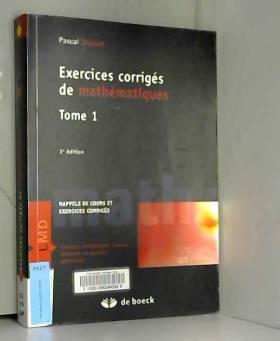 Exercices corrigés de...