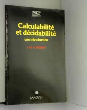 Calculabilité et...