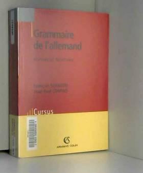 Grammaire de l'allemand :...