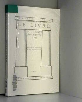 Marius Audin - Le livre : Sa technique, son architecture