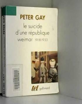 Le Suicide d'une...