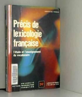 PRECIS DE LEXICOLOGIE...
