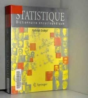 Statistique Dictionnaire...