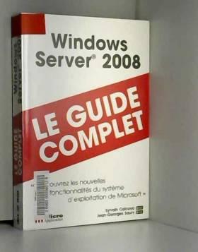 Windows server 2008 : le...