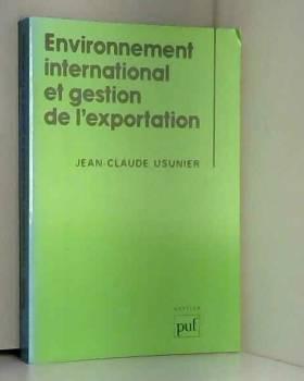 Usunier J-C. - Environnement intern.gestion export.