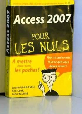 Access 2007 Poche Pour les...