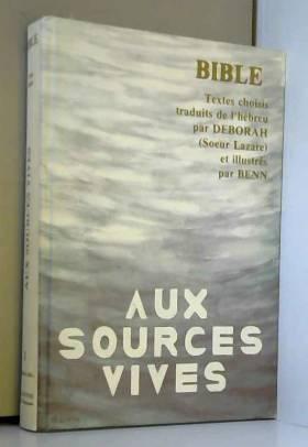 Anonyme - Aux sources vives (Bible)