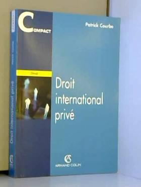 Courbe - Droit international privé