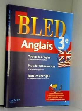Cahier Bled - Anglais 3ème...