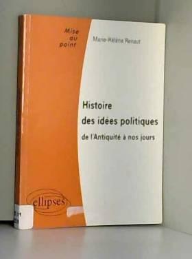 Histoire des idées...
