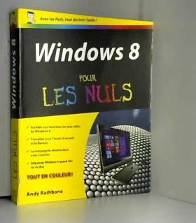 Windows 8 pour les Nuls
