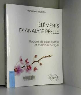 Elements d'Analyse Réelle...