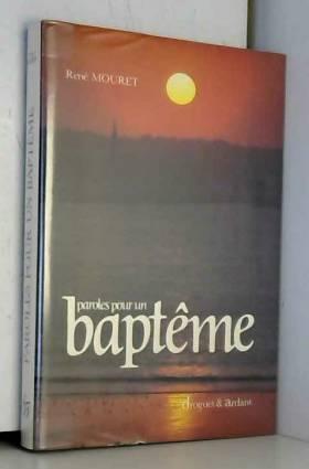 Paroles pour un baptême