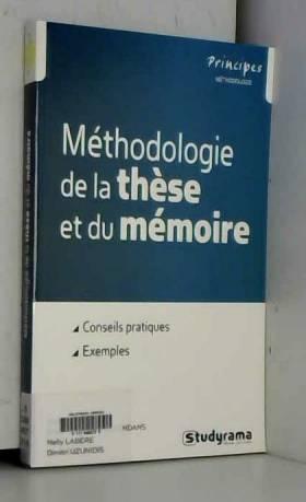 Méthodologie de la thèse et...