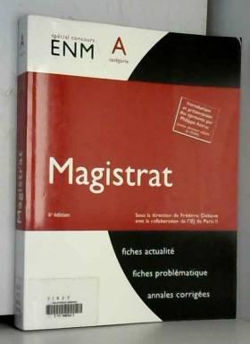 Magistrat. Catégorie A - 6e...