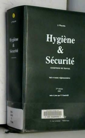 Hygiène et Sécurité :...