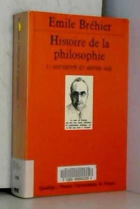 Histoire de la Philosophie,...