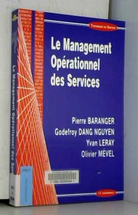 Le Management Opérationnel...