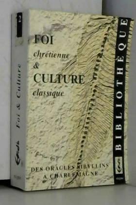 Foi chrétienne et culture...