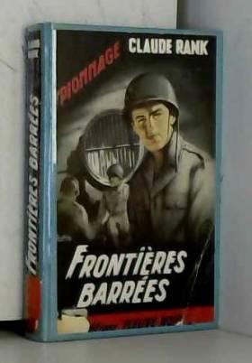 Rank Claude - Frontières barrées.