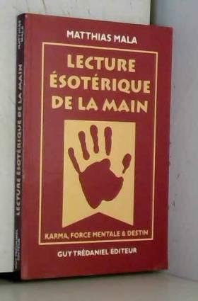 LECTURE ESOTERIQUE DE LA...