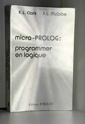 Micro-prolog, programmer en...