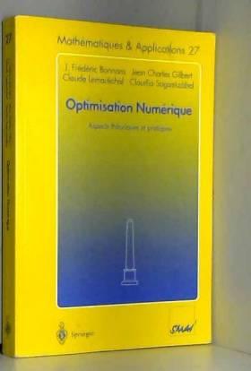 Optimisation Numerique:...
