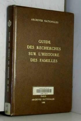 Guide des recherches sur...