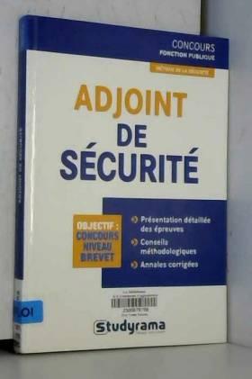 Adjoint de sécurité
