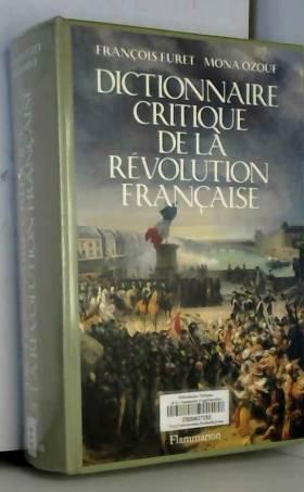 Dictionnaire critique de la...