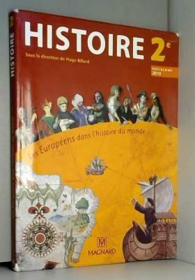 Histoire 2e Les Européens...