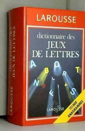 Dictionnaire des jeux de...