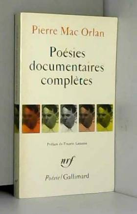 Poésies documentaires...