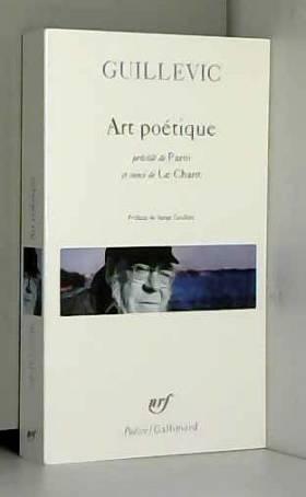 Art poétique/Paroi/Le chant