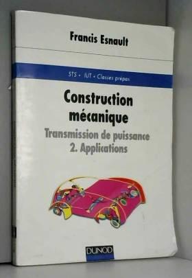 CONSTRUCTION MECANIQUE...