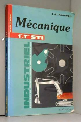 Mécanique : 1res et term STI