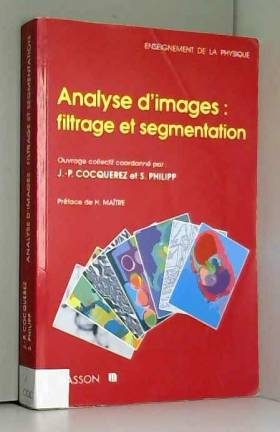 Analyse d'images : filtrage...