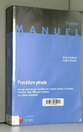 Procédure pénale (ancienne...
