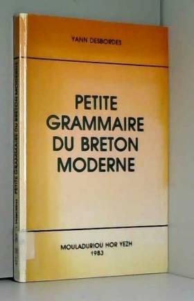 Petite grammaire du breton...