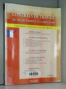 CONTRATS DE TRAVAIL. Du...