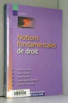 NOTIONS FONDAMENTALES DE...