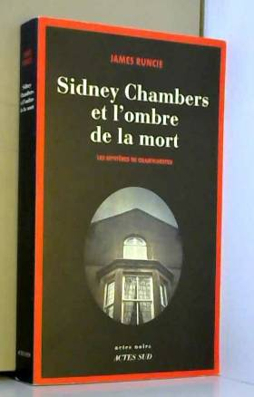 Sidney Chambers et l'ombre...